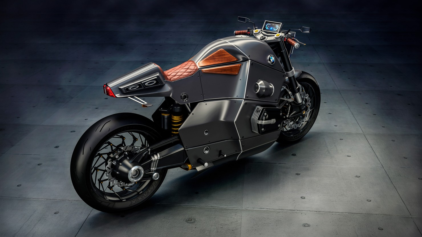 BMW Motorcycle Futuristic