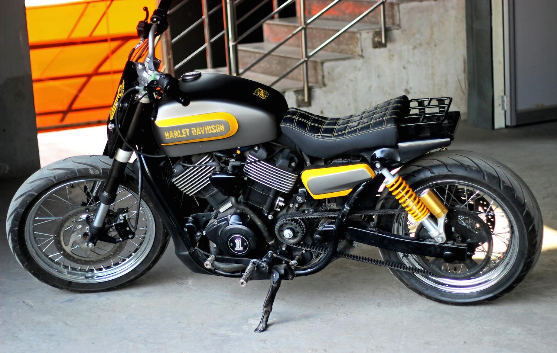 Harley Davidson Street 750 7