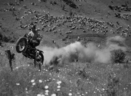Motorcycle Hill Climb 450x330 - Vintage Motorcycle Hill Climb Wallpaper
