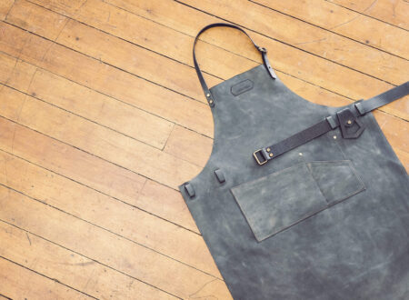 Leather Apron 450x330 - Leather Shop Apron by Niyona