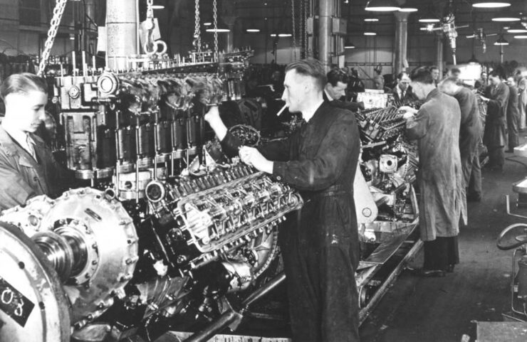 Men Bet Their Lives on It - Packard Merlin Engine