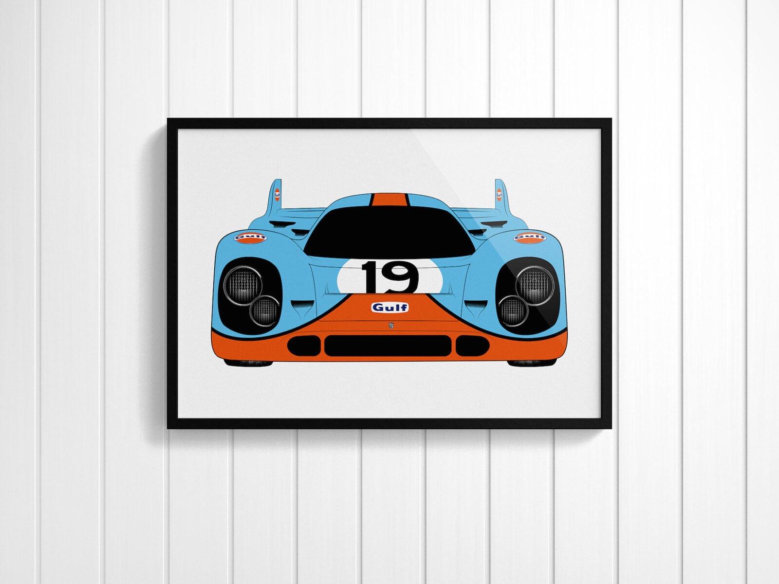 Porsche 917 Silkscreen Posters