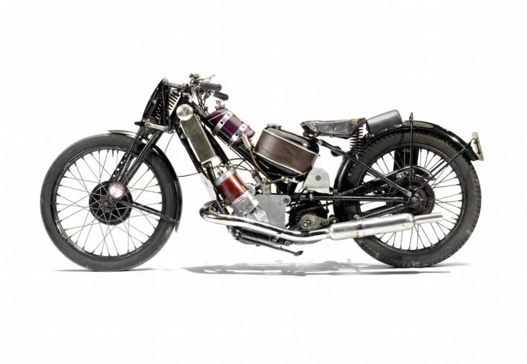 Scott Vintage Motorcycle 1