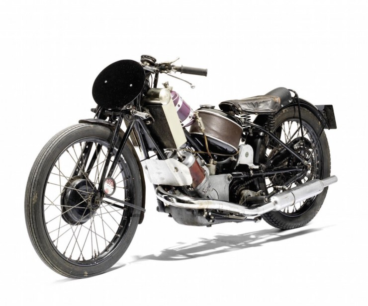 Scott Vintage Motorcycle 2