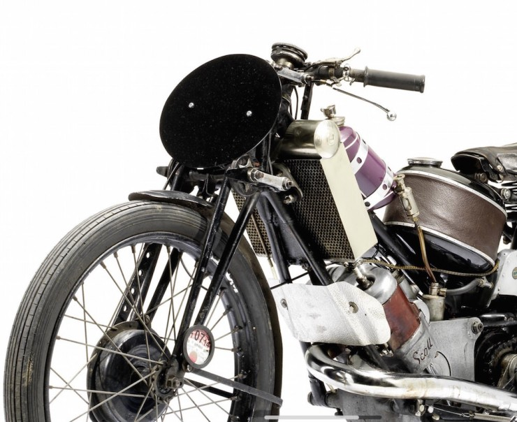 Scott Vintage Motorcycle 3