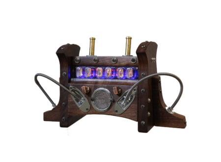 Steampunk Nixie Tube Clock 450x330 - Steampunk Nixie Tube Clock