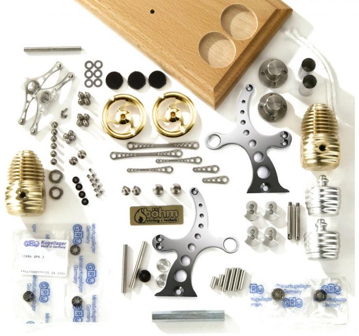 Stirling Engine Parts