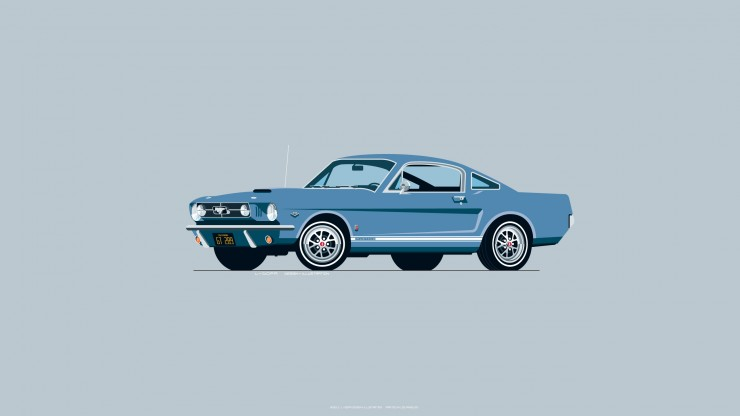 1965_Ford_Mustang_blue