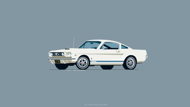 1965_Ford_Mustang_white