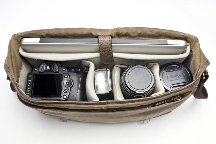 Camera and laptop Bag