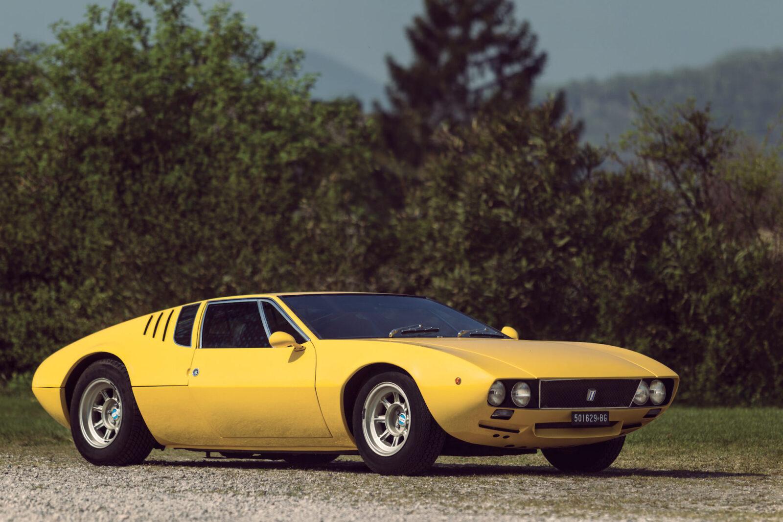 De Tomaso Mangusta >> 1968 De Tomaso Mangusta