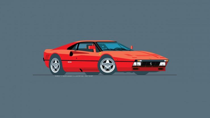 Ferrari_288GTO_Red