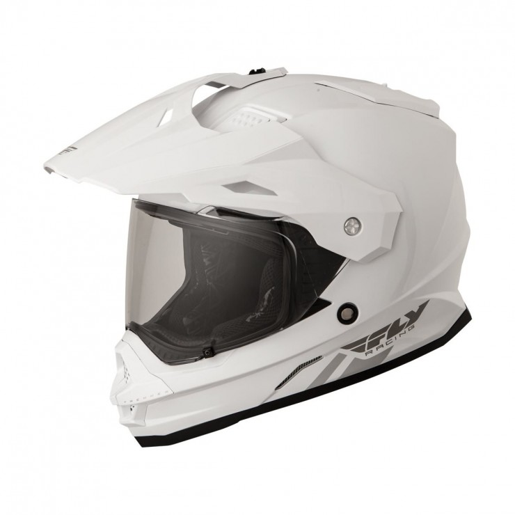 Fly Racing Trekker Helmet White