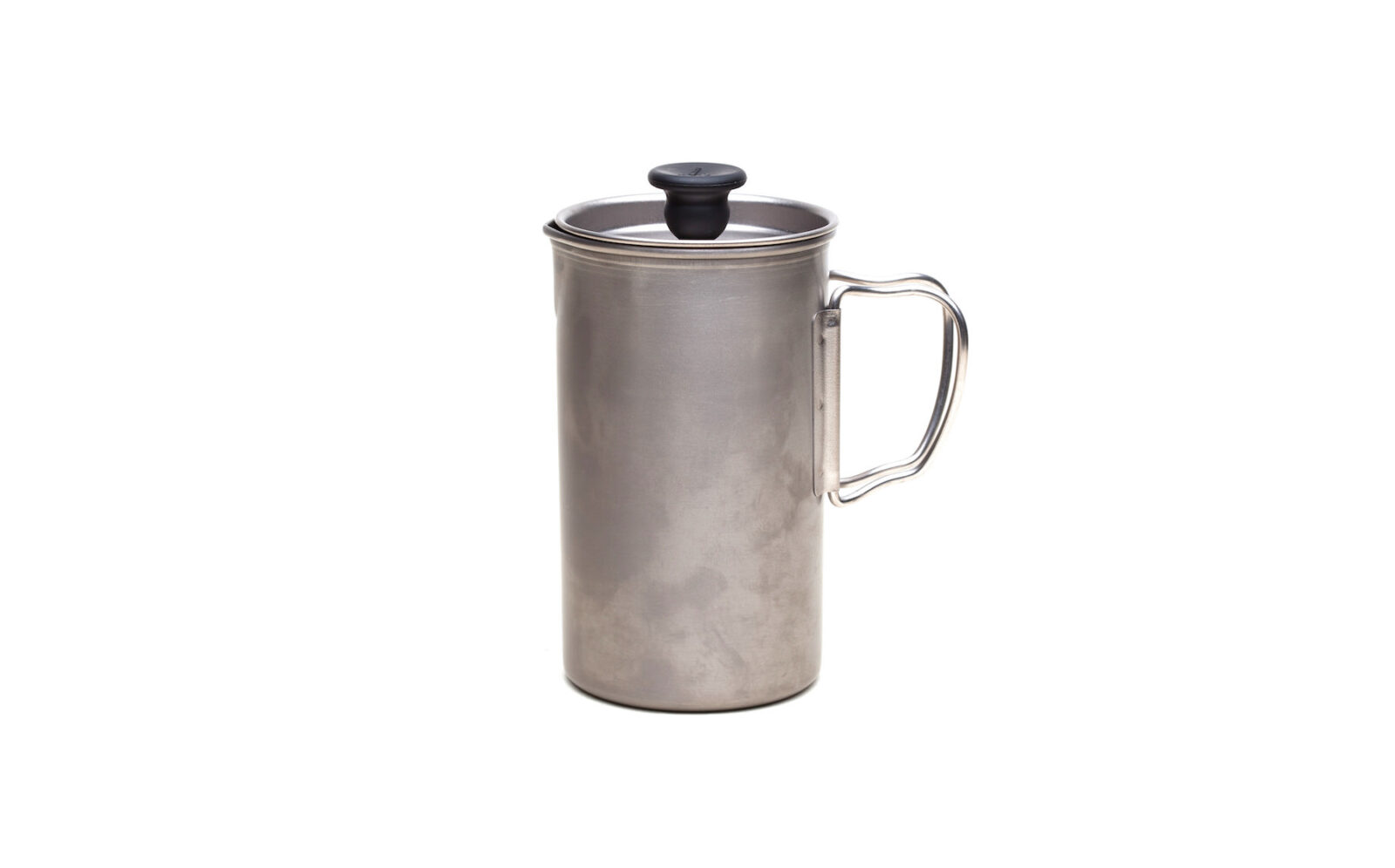 French Press Coffee Maker 1600x996 - Titanium French Press