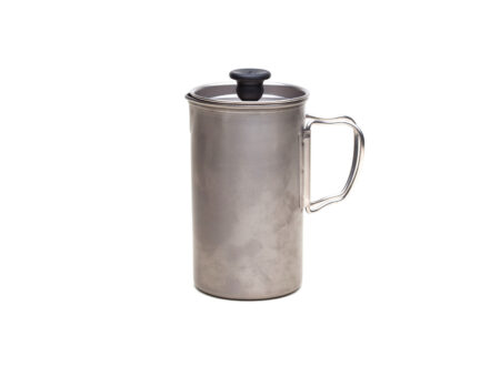 French Press Coffee Maker 450x330 - Titanium French Press