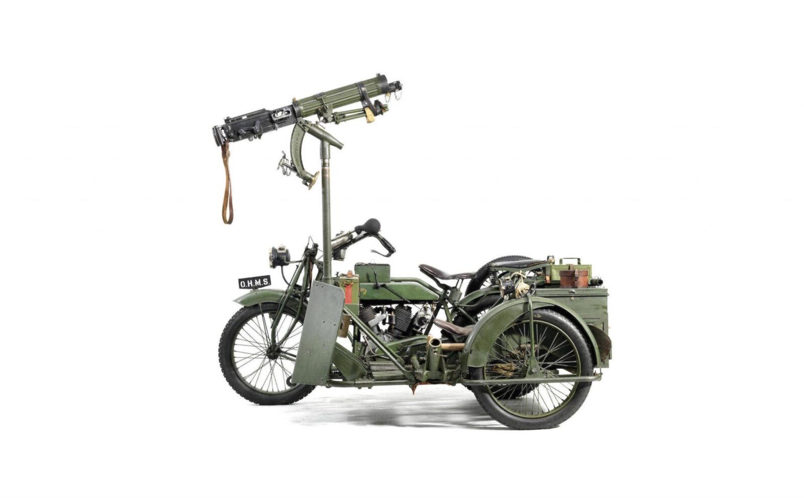 Military Motorcycle 1600x991 - Matchless-Vickers Military Motorcycle