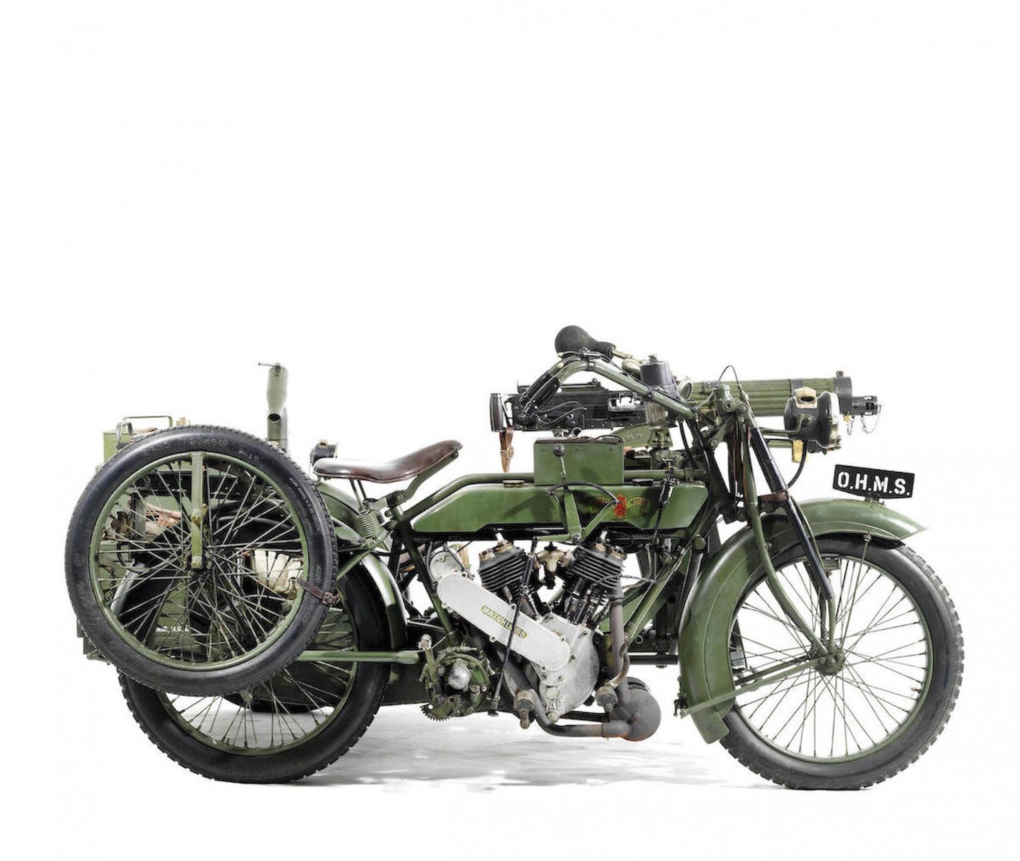 Military Motorcycle 3