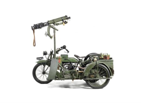 Military Motorcycle 450x330 - Matchless-Vickers Military Motorcycle