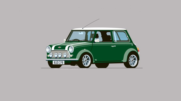 Mini_Cooper_Green