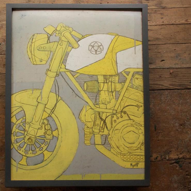 Motorcycle Art  2
