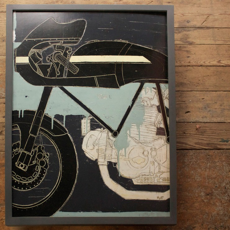 Motorcycle Art  3