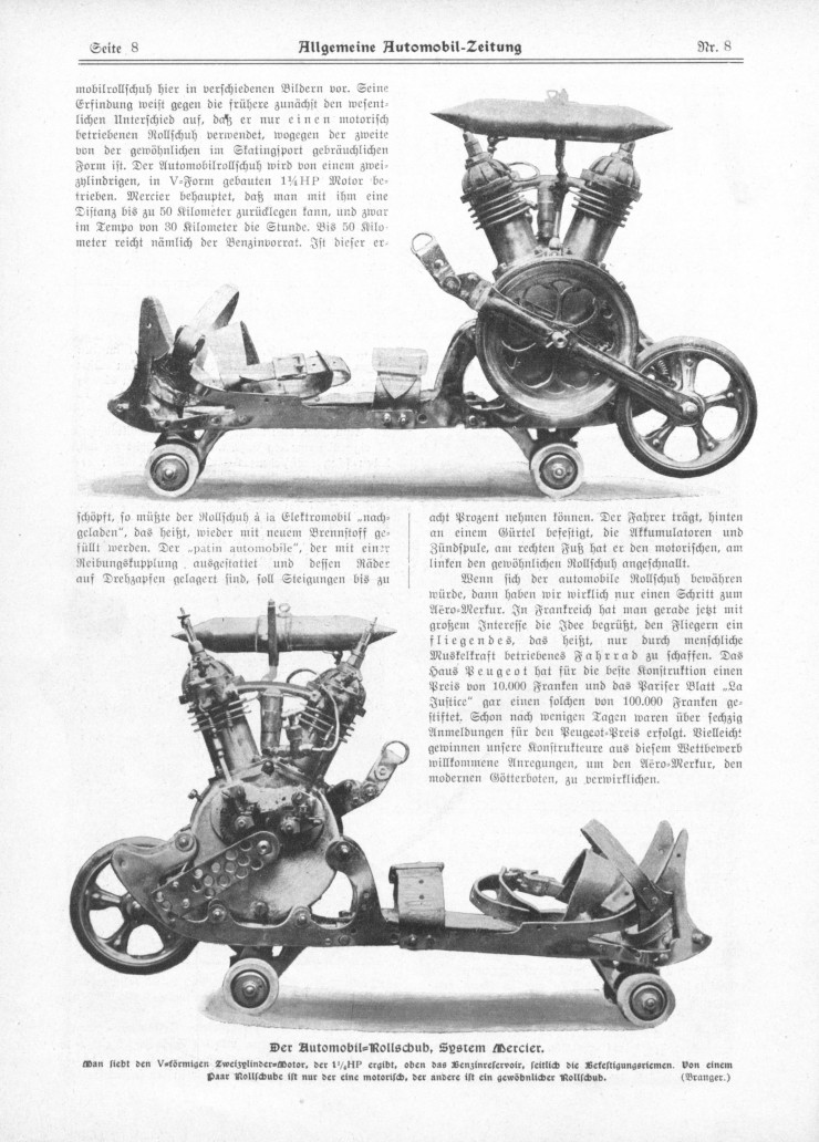 powered roller skates