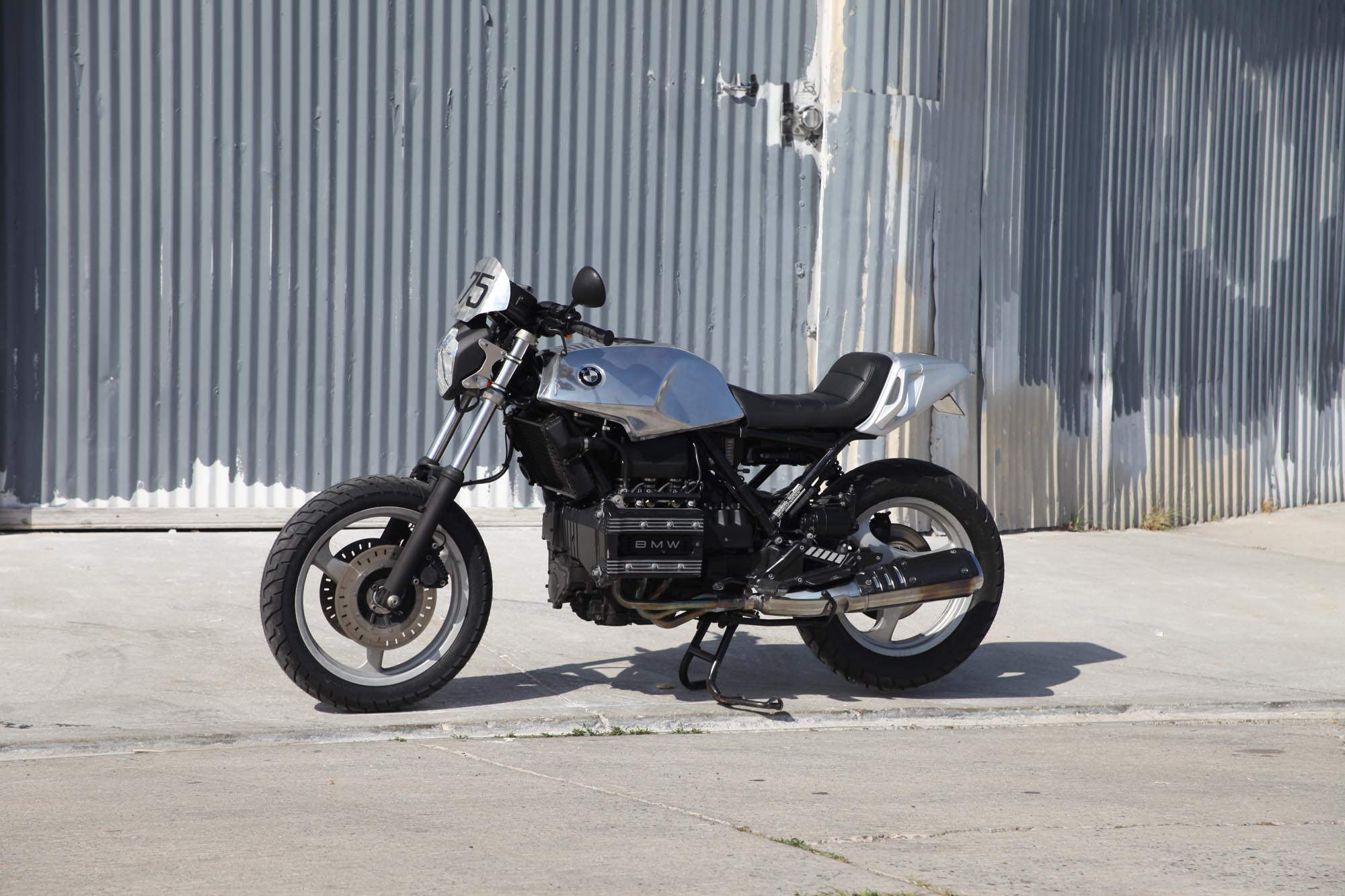 Bmw K on Horizontally Opposed 4 Cylinder Engine