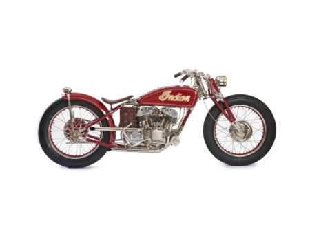 Gasbox Indian Scout Motorcycle 450x330