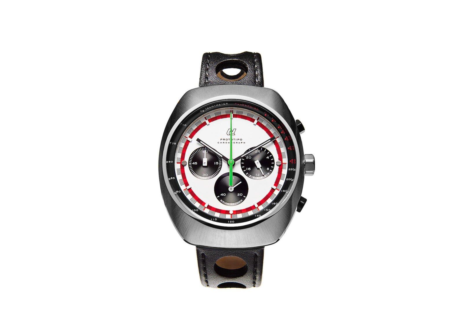 Officine Autodromo Watch 1600x1152 - Autodromo Brian Redman Prototipo Chronograph