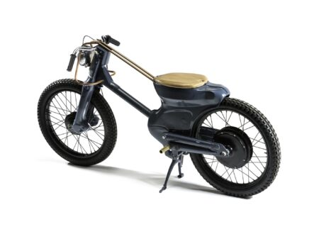 electric blue 450x330 - Deus Electric Motorcycle