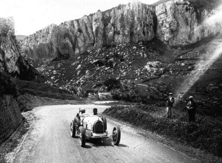 Albert Divo in his Bugatti at the 1928 Targa Florio 2 450x330 - Targa Florio Wallpaper