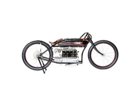 Henderson Motorcycle 6 450x330 - 1917 Henderson Factory Racer