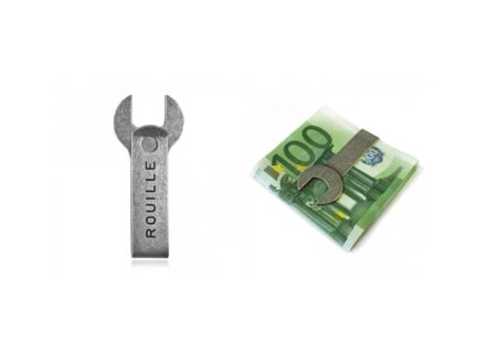 Rouille Spanner Money Clip 2 450x330 - Rouille Spanner Money Clip