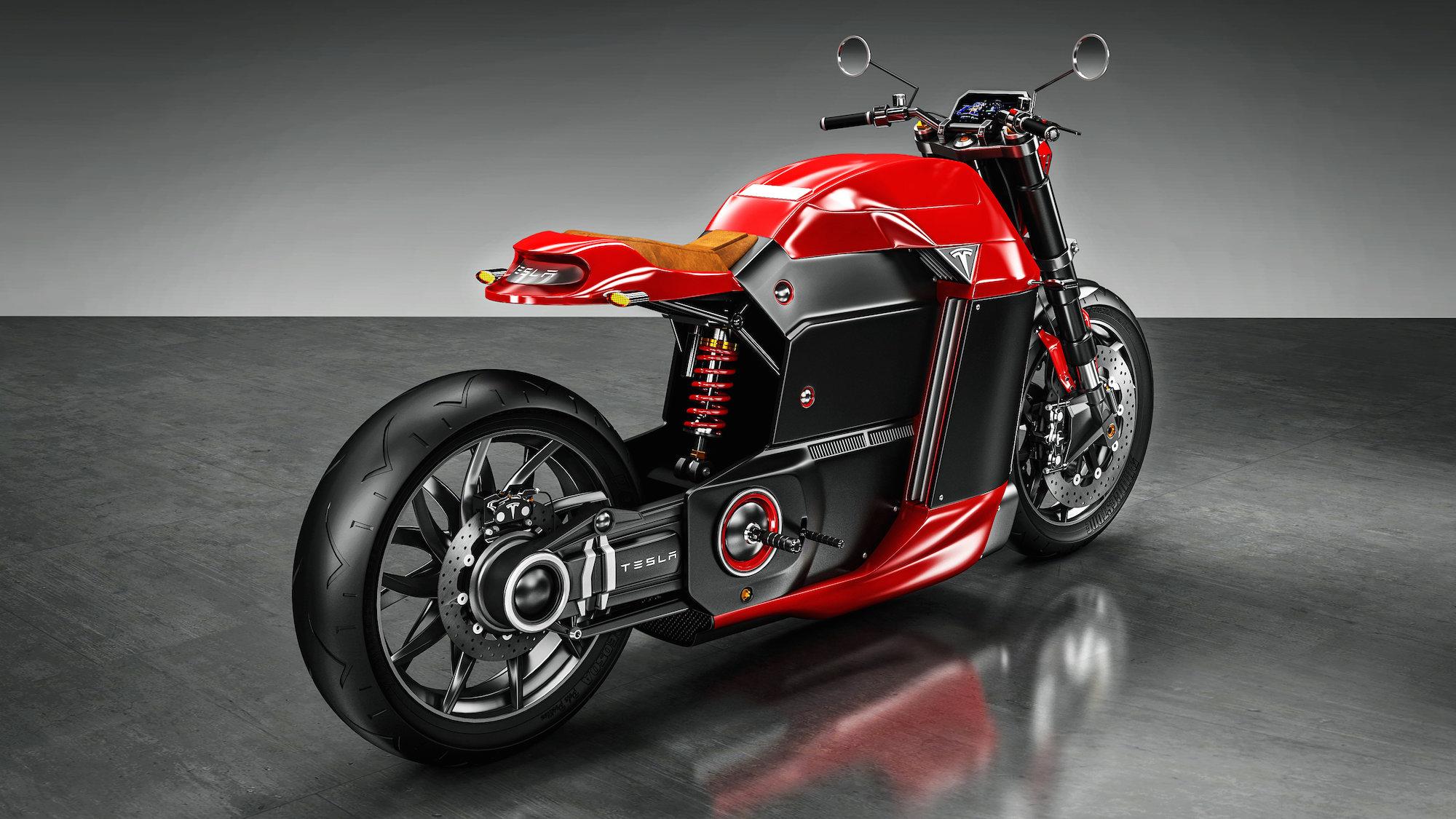 Tesla Model M Motorbike