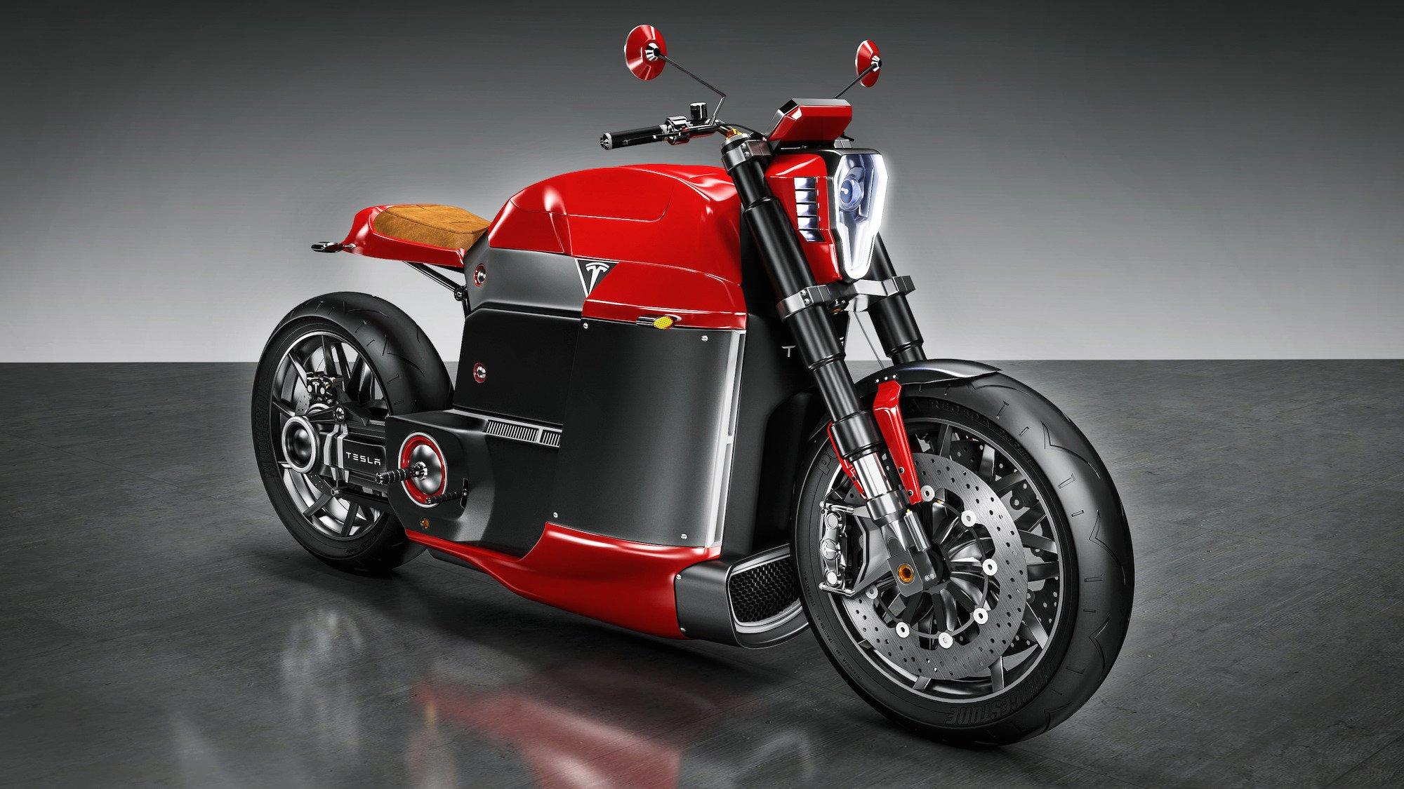 Tesla Model M Motorcycle