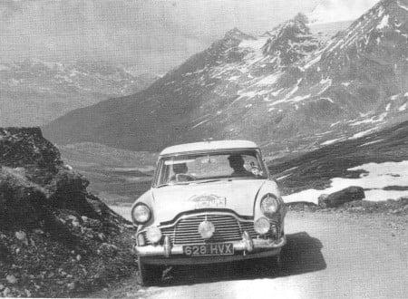 The 1958 Alpine Rally 1 450x330 - The 1958 Alpine Rally