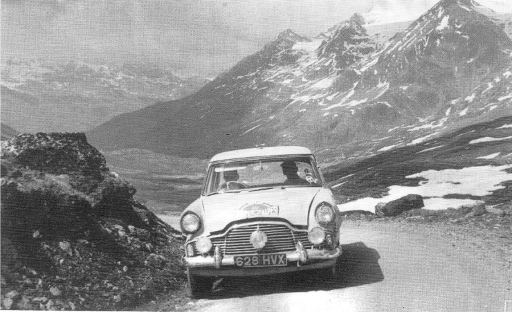 The 1958 Alpine Rally 1