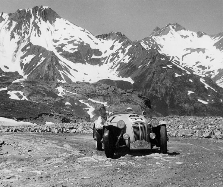 The 1958 Alpine Rally 3
