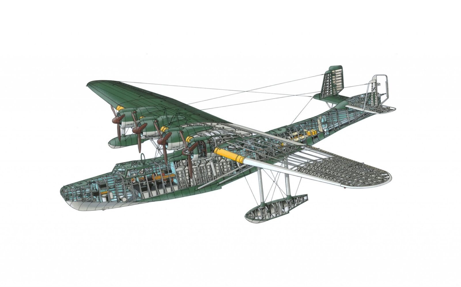 WWII Japanese Flying Boat Kawanishi H6K Mavis 1600x997 - Desktop Wallpaper: WWII Japanese Flying Boat Kawanishi H6K