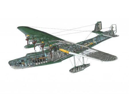 WWII Japanese Flying Boat Kawanishi H6K Mavis 450x330 - Desktop Wallpaper: WWII Japanese Flying Boat Kawanishi H6K