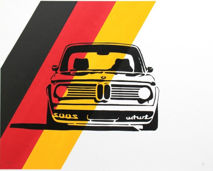 BMW 2002 Poster