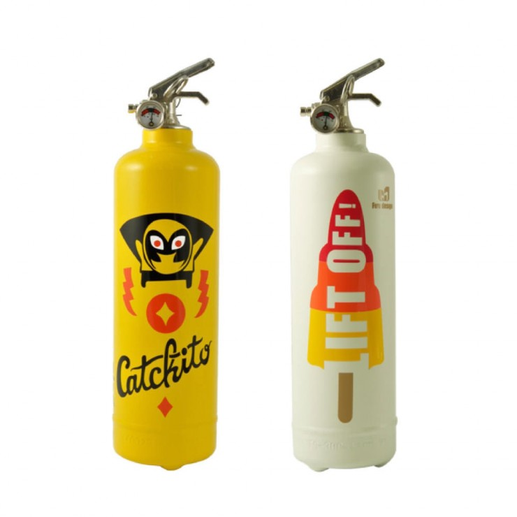 Custom Fire Extinguisher
