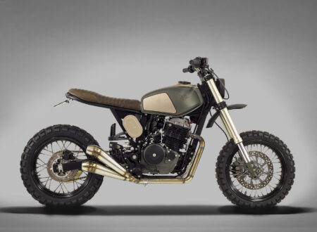 Honda FMX650 4 450x330 - Honda FMX650 by Ton-Up Garage