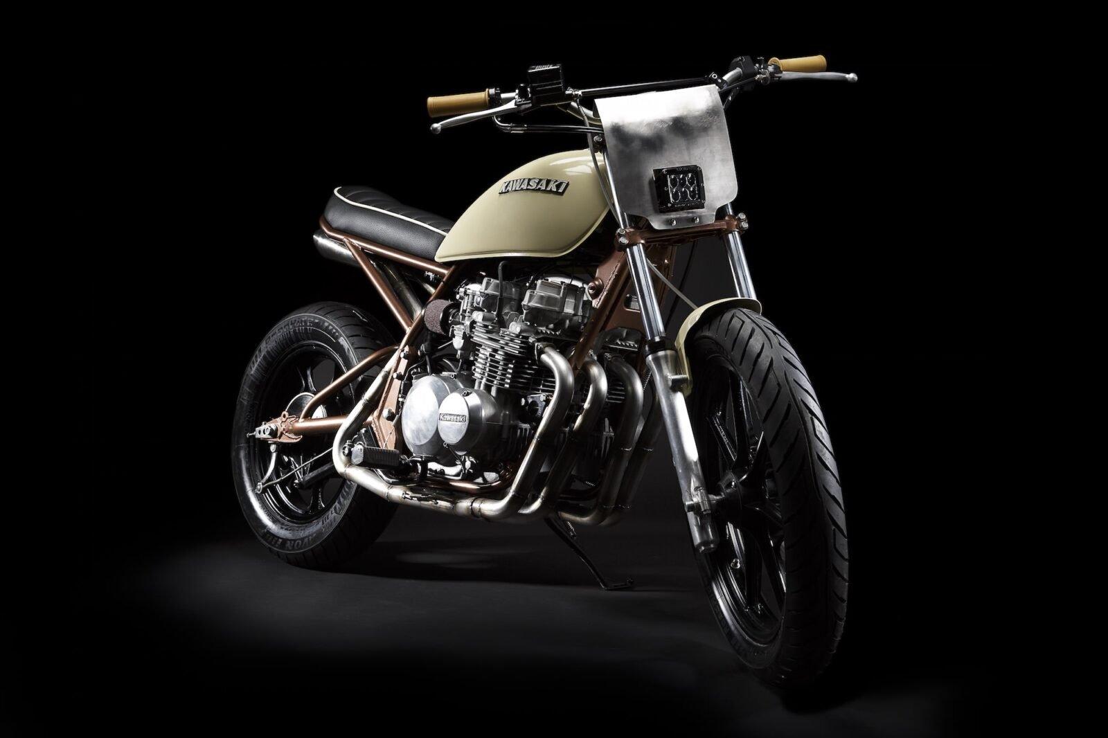 Kawasaki KZ550 8 1600x1066 - Kawasaki KZ550 by No. 8 Wire Motorcycles