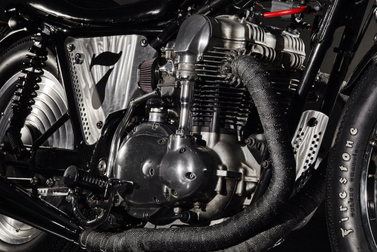 Kawasaki W650 Superrench by Angry Lane 8
