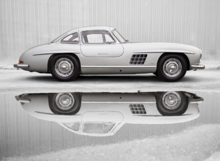 Mercedes Benz 300SL 1 450x330 - Mercedes-Benz 300 SL Alloy Gullwing