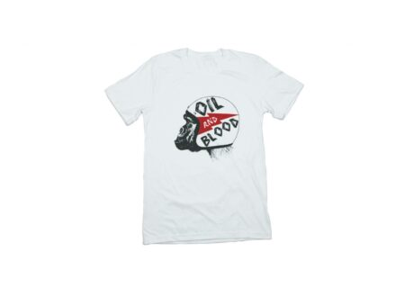 Oil and Blood T Shirt 450x330 - Oil & Blood Chimp Tee