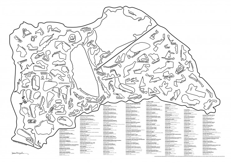 Race Tracks Of The World