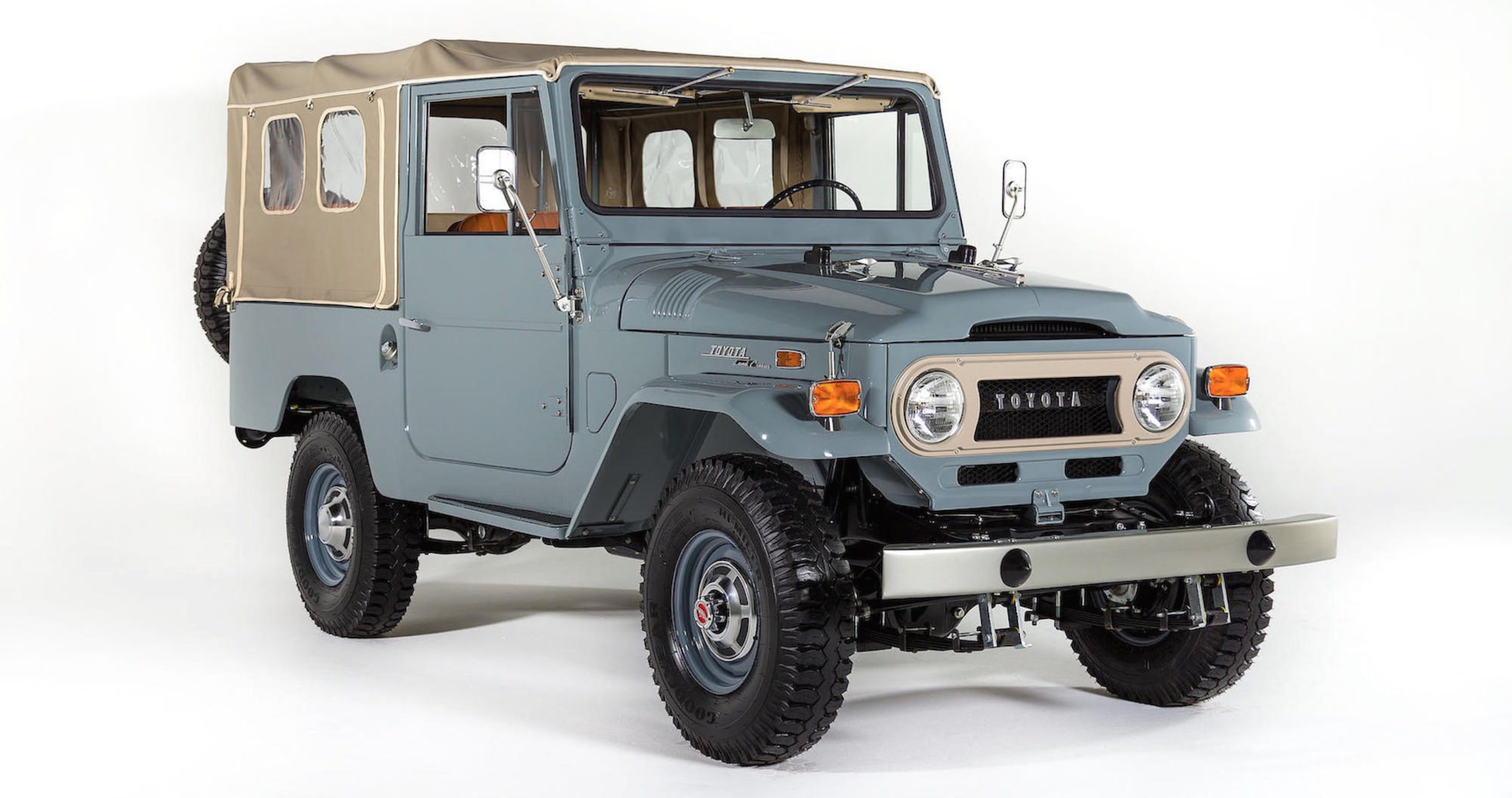 toyota land cruiser fj43. Black Bedroom Furniture Sets. Home Design Ideas