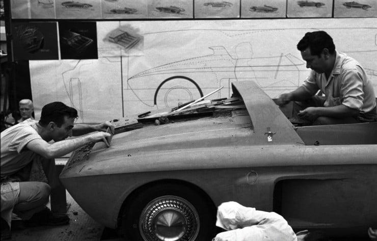 1962 Ford Mustang Car